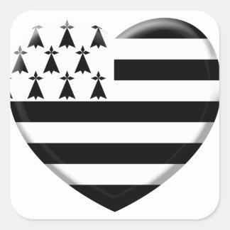 I like Brittany Square Sticker