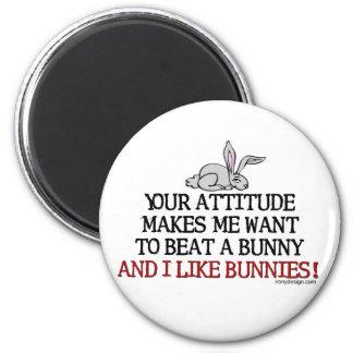 I Like Bunnies Magnet