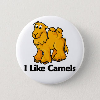 I Like Camels 2 Inch Round Button
