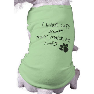 i like cats dog t shirt