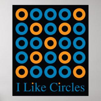 I LIke Circles 1D Poster