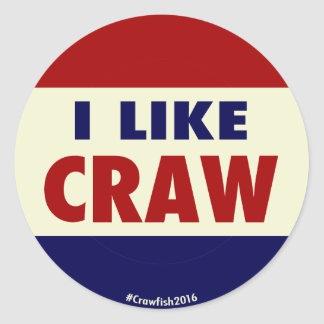 I Like Craw! #Crawfish2016 Sticker