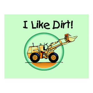 I Like Dirt T-shirts and Gifts Postcard