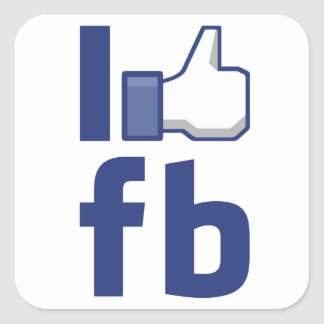 I LIKE Facebook Sticker