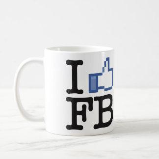I Like FB Facebook thumbs up mug