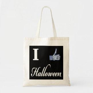 I LIKE Halloween Budget Tote Bag
