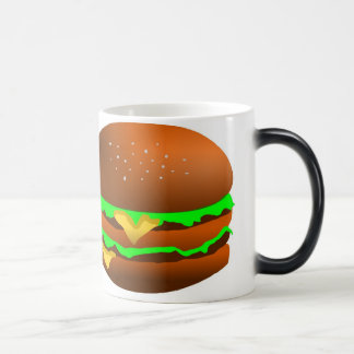 I like hamburgers, magic mug