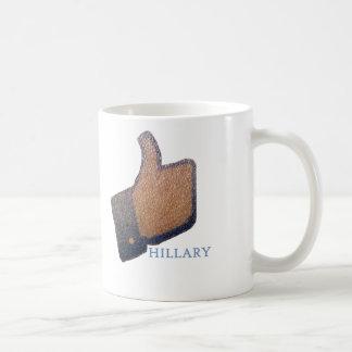 I LIKE HILLARY COFFEE MUG
