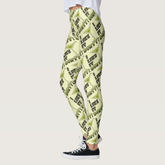 I LIKE IT DIRTY! Dirty Martini Cocktail Humor Leggings