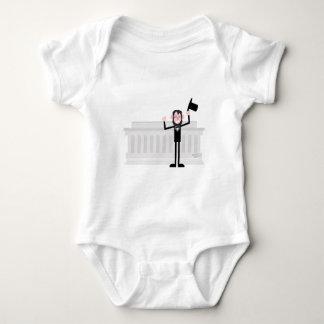 I like lincoln baby bodysuit