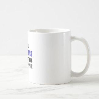 I Like Manatees Better Than I Like People Coffee Mug