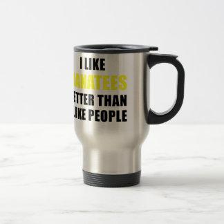 I Like Manatees Better Than I Like People Travel Mug