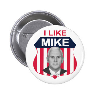 I Like Mike Shield 2 Inch Round Button