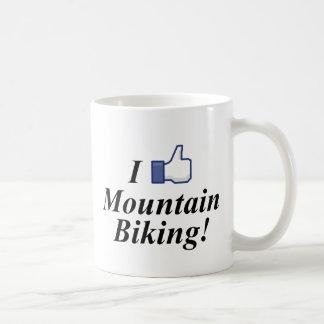 I LIKE MOUNTAIN BIKING! COFFEE MUG