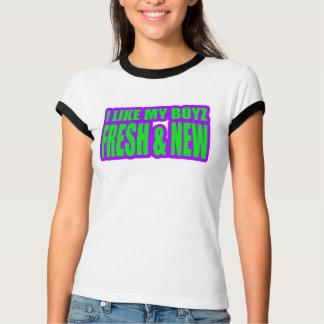 I LIKE MY BOYZ NEW and FRESH jerkin girls T-Shirt