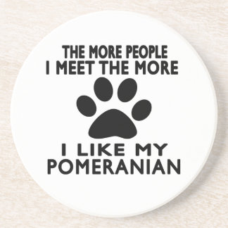 I like my Pomeranian. Coaster