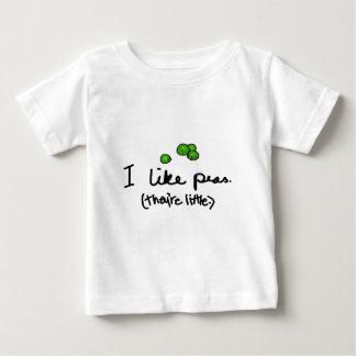 I Like Peas Baby T-Shirt