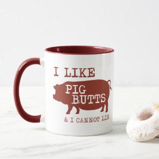 I Like Pig Butts Coffee Mug