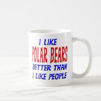 I Like Polar Bears Better Than I Like People Mug