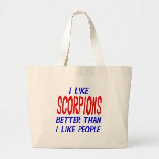 I Like Scorpions Better Than I Like People Tote Ba