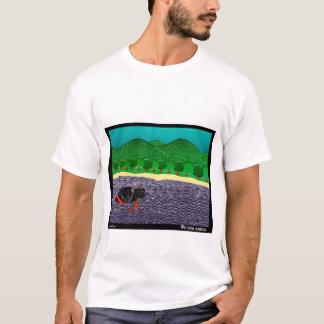 I Like Sticks, Black Lab - Stephen Huneck T-Shirt