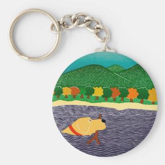 i like sticks-key chain keychain