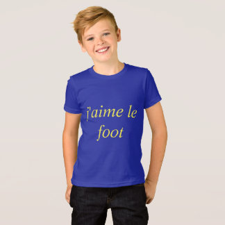 I like the foot T-Shirt