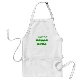 I Like the Green Ones Standard Apron
