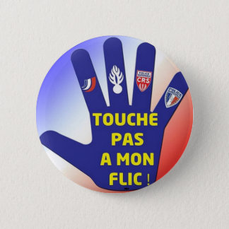 I LIKE THE POLICE 2 INCH ROUND BUTTON
