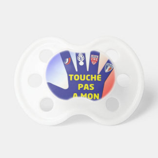 I LIKE THE POLICE PACIFIER