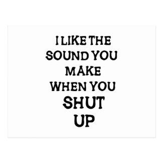 I Like The Sound(1) Postcard