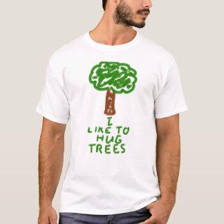 I Like to Hug Trees T-Shirt