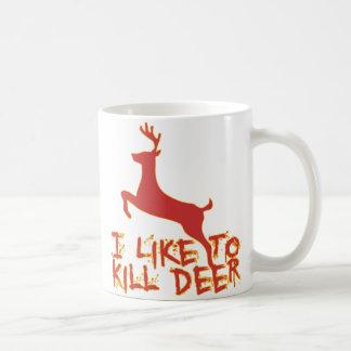 I Like To Kill Deer Mug