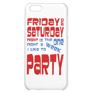I Like To Party iPhone 5C Cases