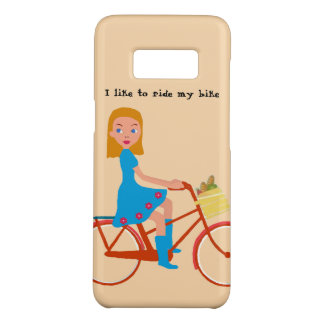 I like to ride my bike Case-Mate samsung galaxy s8 case