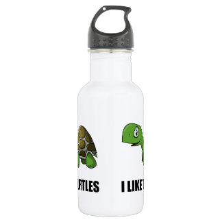 I Like Turtles 532 Ml Water Bottle