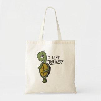 I Like Turtles Bag