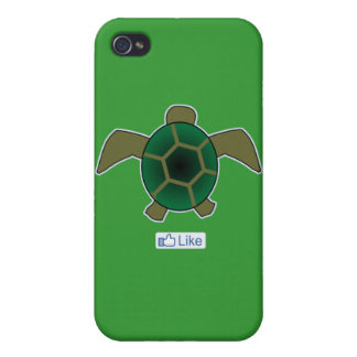 I Like Turtles Cases For iPhone 4