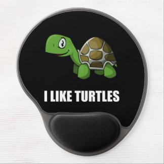 I Like Turtles Gel Mouse Pad