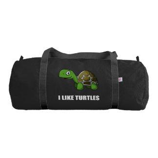 I Like Turtles Gym Bag