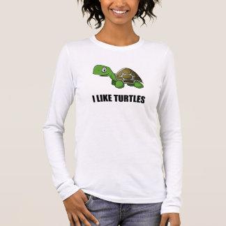 I Like Turtles Long Sleeve T-Shirt