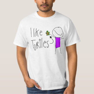 """I like Turtles"" T-Shirt"