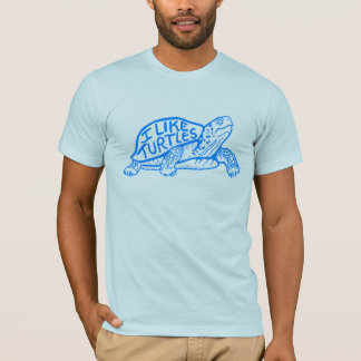 I Like Turtles tee shirt