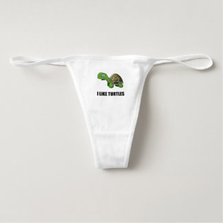 I Like Turtles Underwear