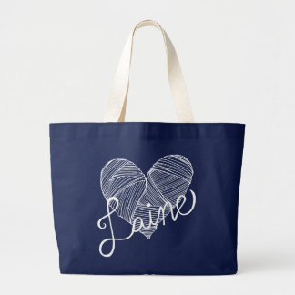 I like wool large tote bag