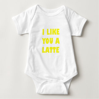 I Like You a Latte Baby Bodysuit
