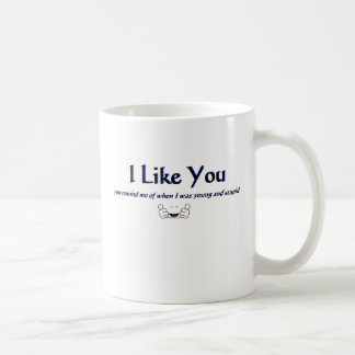 I Like You Witty Quotes for Coffee Mugs