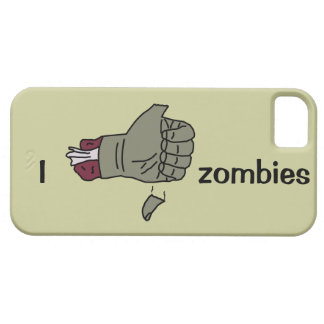 I like zombies case with thumb falling off iPhone 5 covers