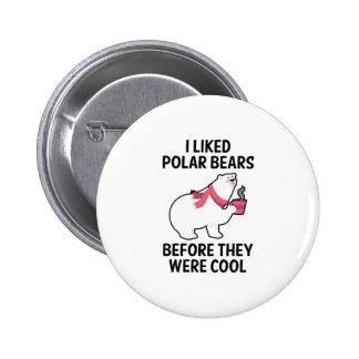 I Liked Polar Bears 2 Inch Round Button