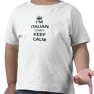 I l'Italien du ` m et moi ne peut pas garder le T-shirt